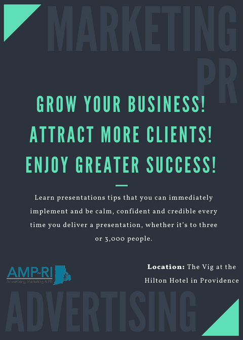 "January 16, 2018: ""Grow Your Business! Attract More Clients! Enjoy Greater Success!"""