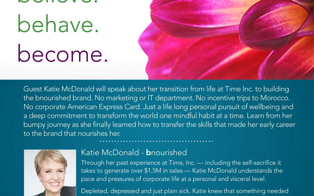 June 5, 2018: The Brand is Me with Guest Speaker Katie McDonald