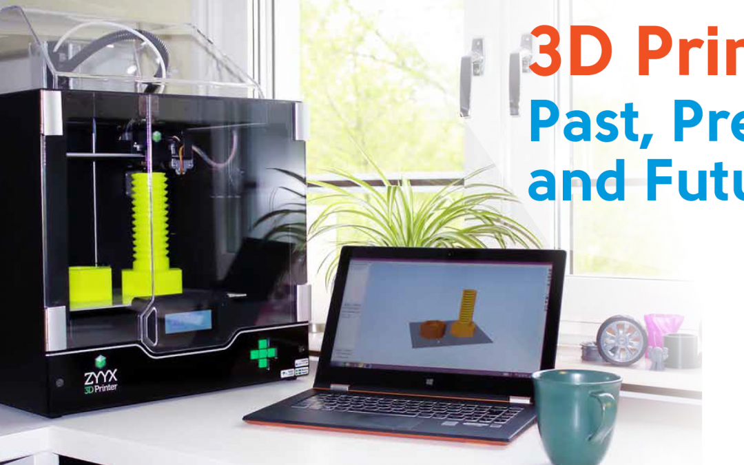 February 12: 3D Printing: Past, Present, and Future