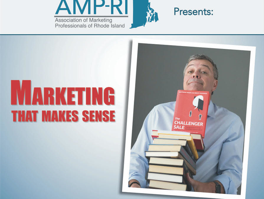 August 13: Marketing That Makes Sense