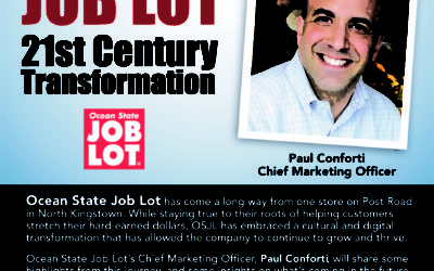 September 10: Ocean State Job Lot: A 21st Century Transformation